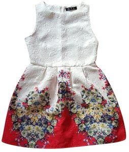 Other Floral Flowers Short Dress