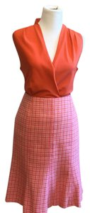 Ann Taylor Skirt Pink, Orange, White