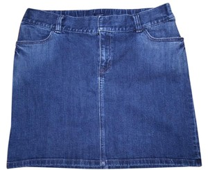 Gap Baby Belly Elastic Band Maternity Skirt