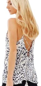 The Jetset Diaries Top White, black, tan