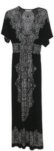 Black and white Maxi Dress by Peter Nygard