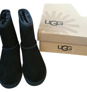 UGG Boots Narrow Black Boots