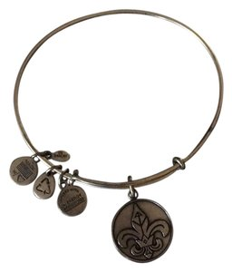 Alex and Ani Fleur De Lis- Gold