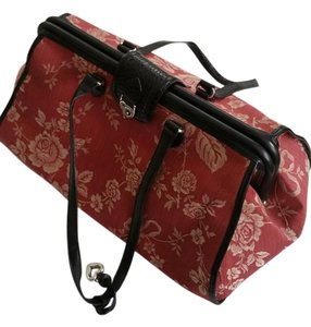 48285cad88 Brighton Red Tapestry Weekend/Travel Bag - Tradesy