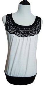 Maurices Scoop Neck Soft Embroidered Tunic