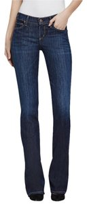 Citizens of Humanity Dark Wash Long Tall Boot Cut Jeans-Dark Rinse