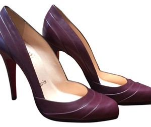 Christian Louboutin Maroon Pumps