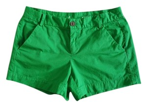 Gap Kelly Khaki Chino Bright Mini/Short Shorts Green