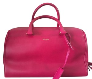 Saint Laurent Satchel in Fuchsia