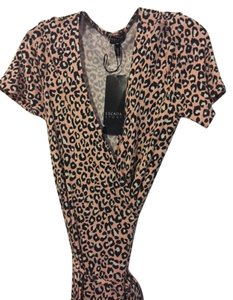 Escada Leopard 8 Wrap Dress