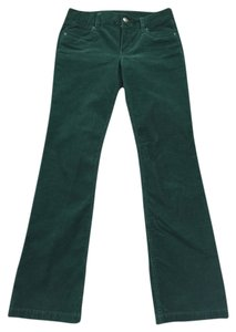 J.Crew Corduroy Boot Cut Pants Green