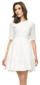 Gap short dress White Summer Eyelet on Tradesy
