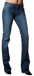 Kasil Comfortable Boho Trendy Chic Perfect Boot Cut Jeans-Medium Wash