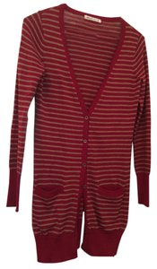 Xside Striped Woven Cardigan