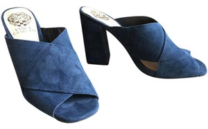 Vince Camuto Dark Navy Blue Mules