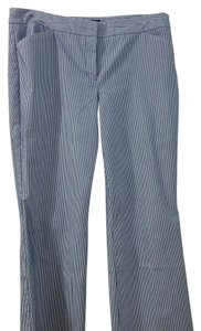 Express Trouser Pants Blue and white