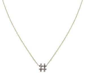 Ellie Jay Jewels 14K Yellow Gold WTF Necklace with Diamond Accent