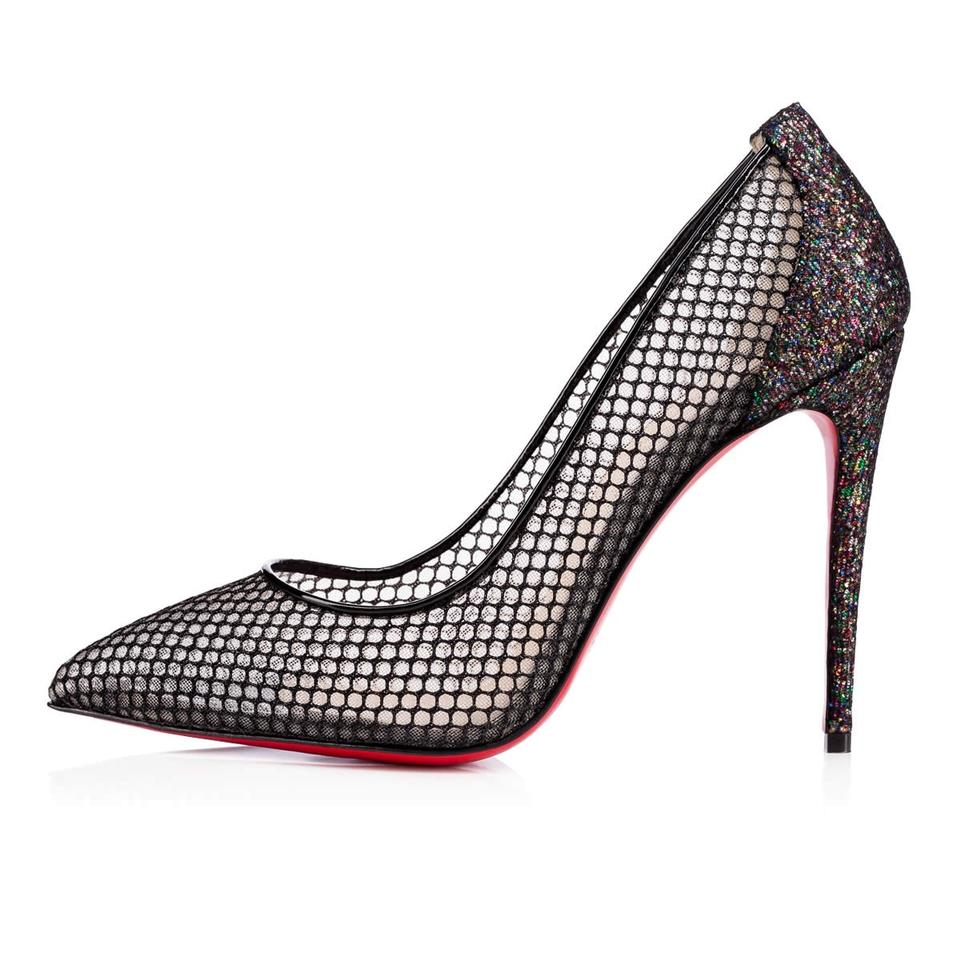 christian louboutin ombre pointed-toe pumps w tags