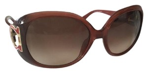 Salvatore Ferragamo Ferragamo Burgundy Polarized Sunglasses _ Like New