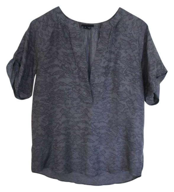 Preload https://item4.tradesy.com/images/theory-dark-grey-lace-blouse-size-8-m-172678-0-0.jpg?width=400&height=650