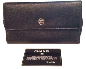 Chanel Chanel button wallet