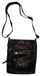 Other Silver Hardware Multi Pockets Zipper Magnetic Snap Cross Body Bag