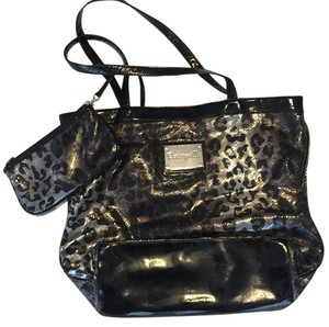 Betsey Johnson Tote in Black/Silver