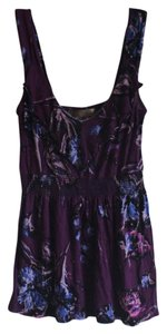 Lush Night Out Cami Top Purple