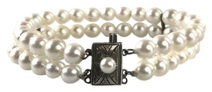 Other Natural Japanese Double Strand Pearl Bracelet