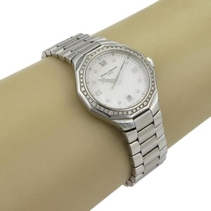 Baume & Mercier authentic baume & Mercier bezel ss diamond and mother of pearl