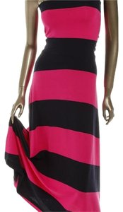 Gap Maxi Skirt Black, hot pink
