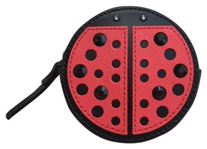 Kate Spade Lady Bug Coin Purse Turn Over A New Leaf