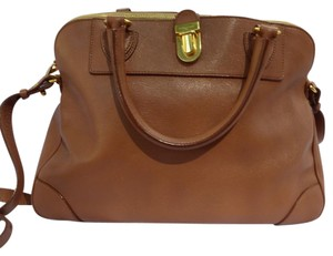 Marc Jacobs Satchel in Light Tobacco with Brass
