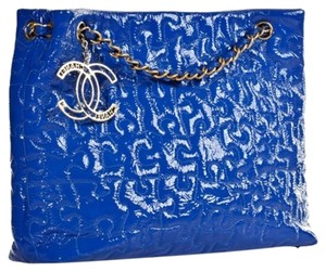 Chanel Blake Lively Celebrity Limited Edition Tote in Blue