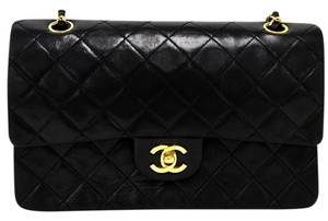 Chanel Graffiti Cambon Chain Lambskin Maxi Shoulder Bag