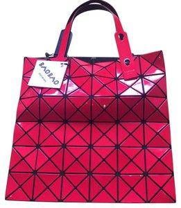 Issey Miyake Tote in Red