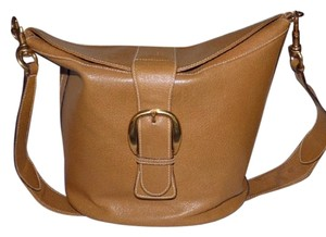 Gucci Equestrian Accents Satchel in camel leather