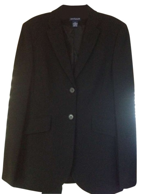 Preload https://item4.tradesy.com/images/ann-taylor-black-and-pant-suit-size-4-s-172703-0-0.jpg?width=400&height=650