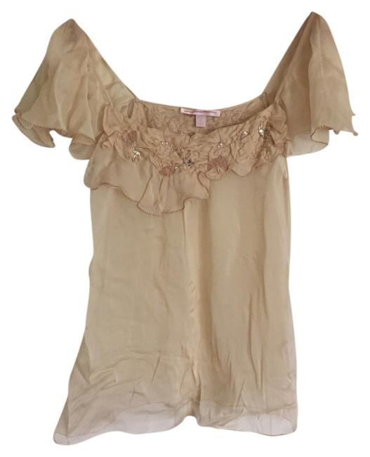 Preload https://item2.tradesy.com/images/rebecca-taylor-cream-sheer-embroidered-blouse-size-0-xs-1727031-0-0.jpg?width=400&height=650