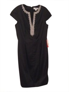 Chetta B. by Sherrie Bloom and Peter Noviello Jeweled Neckline Dress