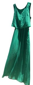 Maxi Dress by Green apple chiffon dress