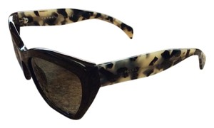 Prada Prada PR02QS-DHO4M1 Women's Brown Frame 56mm Sunglasses New In Box