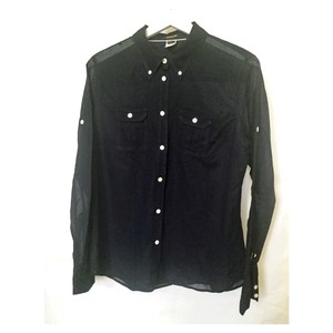 J.Crew Shirt Cotton Button Down Shirt Navy