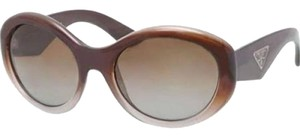 Prada Prada PR30PS-PDM6E1 Brown Frame Polarized Sunglasses New In Box