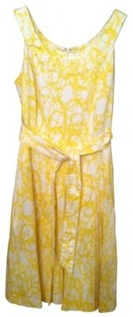 Preload https://item3.tradesy.com/images/banana-republic-yellow-and-white-long-short-casual-dress-size-8-m-17272-0-0.jpg?width=400&height=650