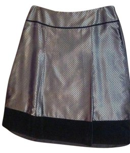 Ann Taylor Diamond Skirt Gold