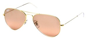 Ray-Ban Brand New Ray-Ban RB3025 001/3E Gold/Silver Pink Mirror Lens