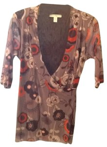 Weston wear Top Brown and rust multi