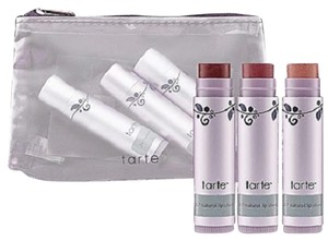Tarte Tarte 24.7 Lip Sheers Trio Lip Balm Monday, Friday & Twilight With Lace Pouch