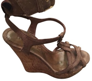 Burberry neutral Wedges